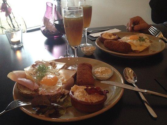 Nunspeet, The Netherlands: Een Prima lunch.