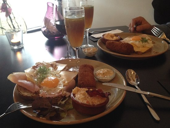 Nunspeet, Nederländerna: Een Prima lunch.