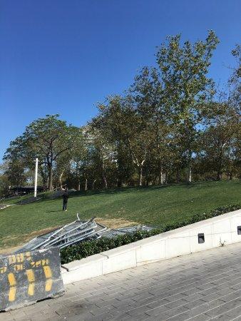 Taksim Park: Çölde vaha gibi