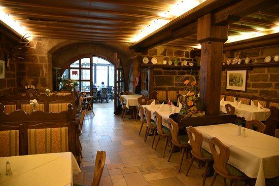 Colmberg, Alemania: Main restaurant area