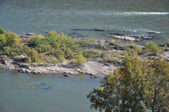 Oberwesel, Almanya: Blick zum Rhein