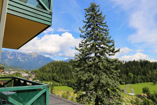 Hotel Triglav Bled: View from room 105