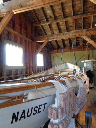 Old Harbor Lifesaving Station: Lifesaving boat
