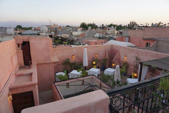 Riad Al Badia: Dachterrasse