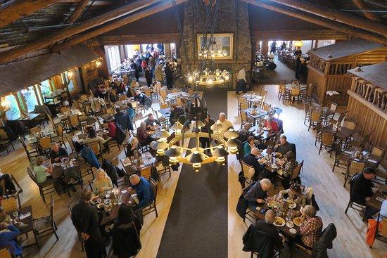 Old Faithful Inn Dining Room Reviews