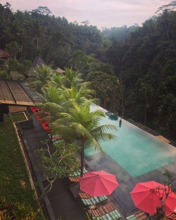Chapung SeBali Resort and Spa: View from breakfast at the restaurant!