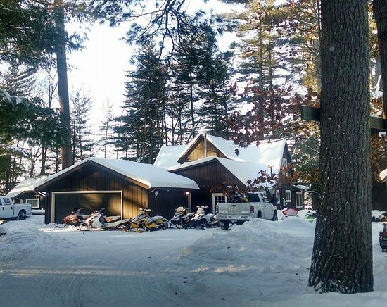 Saint Germain, WI: Large 5 bedroom cabin great for larger groups!
