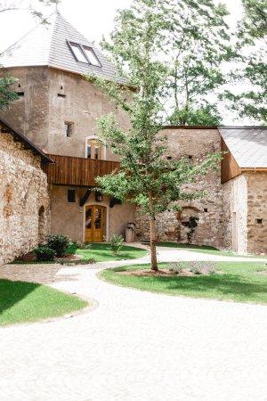 Schloss Gabelhofen: Turmzimmer von außen