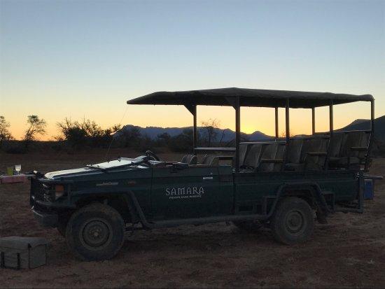 Graaff-Reinet, Νότια Αφρική: Samara Private Game Reserve