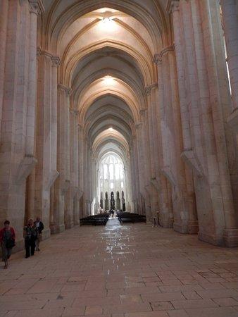 Batalha Monastery: Main portion of church