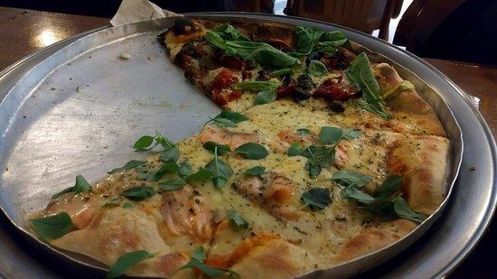 Massas Luigi: Pizza vegetariana