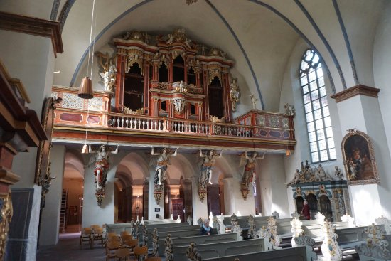 Hoxter, Germany: The interior of the chiurch