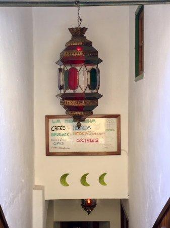 Carratraca, Spain: Entrance to La Bocacha. Spanish Decor.