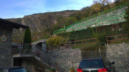 Montjovet, Italia: si mangia bene bene bene
