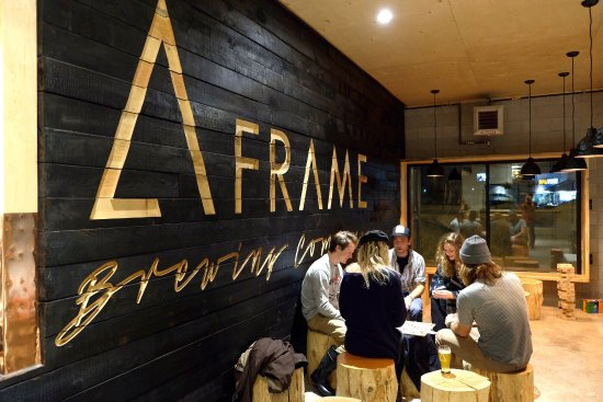 A-FRAME Brewing Co.: Great selection of beers and great vibes!