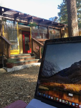 Idyllwild, แคลิฟอร์เนีย: Coffee, food and wifi, all bases covered