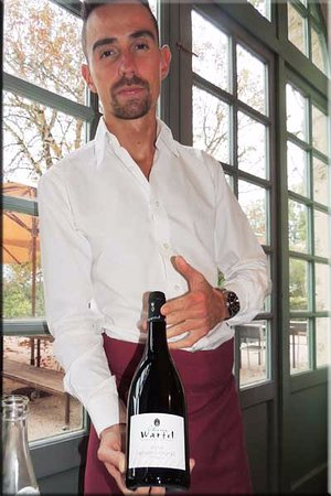 Pierre-Perthuis, Francia: Our wine steward
