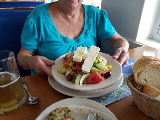 The big Greek salad.