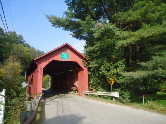 Slaughterhouse Covered Bridge: ponte