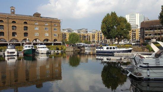 St. Katharine Docks: docks