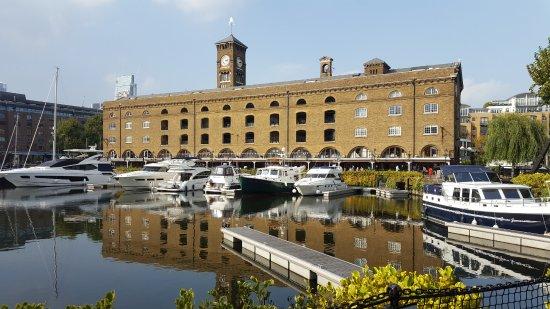 St. Katharine Docks: lusso