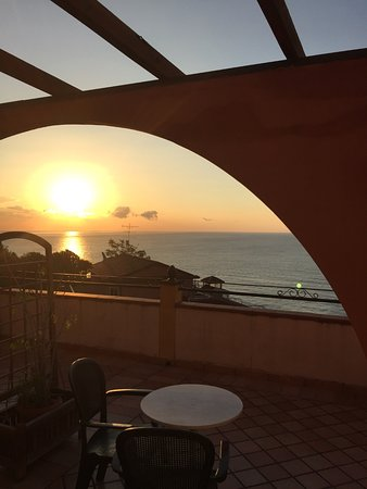 Hotel Baia Taormina: View from 506