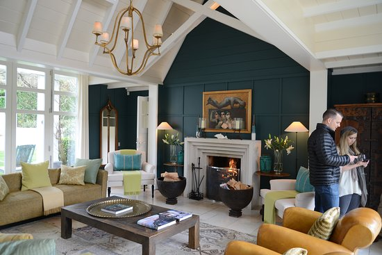 Huka Lodge: The huge living area