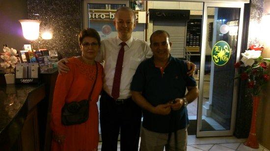Laleli Gonen Hotel: avec Etem