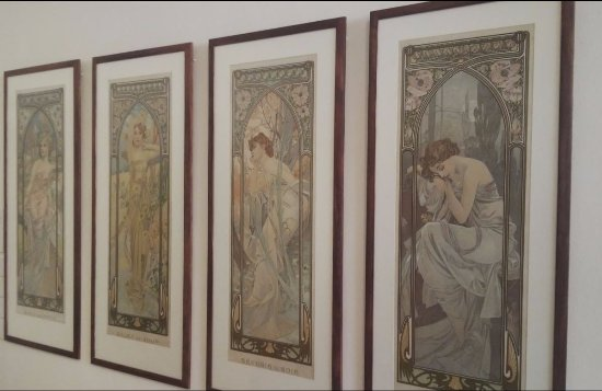 Mucha Museum: the Four Times of Day