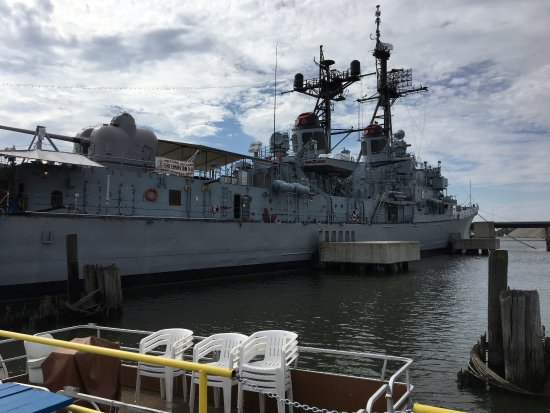Saginaw Valley Naval Ship Museum: You actually walk around the ship