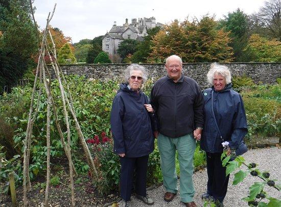 Sizergh Castle: The Kitchen Garden