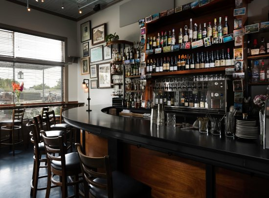 Athens, GA: The Bar at The National, open all day with tapas, drinks and coffee available between lunch & di