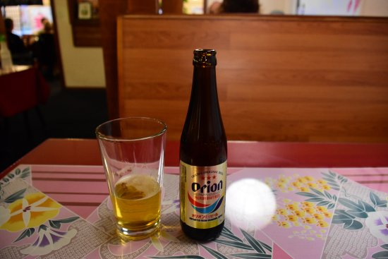 Paradise, Калифорния: Orion Beer from Okinawa