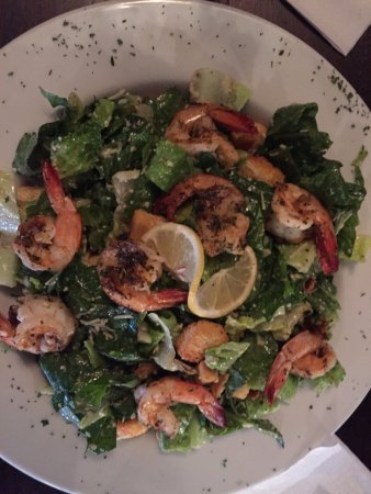 Natchitoches, LA: Caeasr Salad with Grilled Shrimp