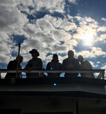 Lockport, NY: Top deck travelers