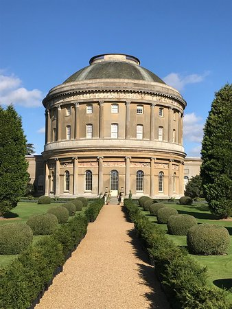 Horringer, UK: Ickworth house Rotunda