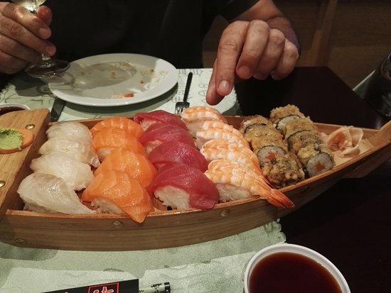 Se prohibe el consumo de Sushi por una persona intoxicada en Valencia
