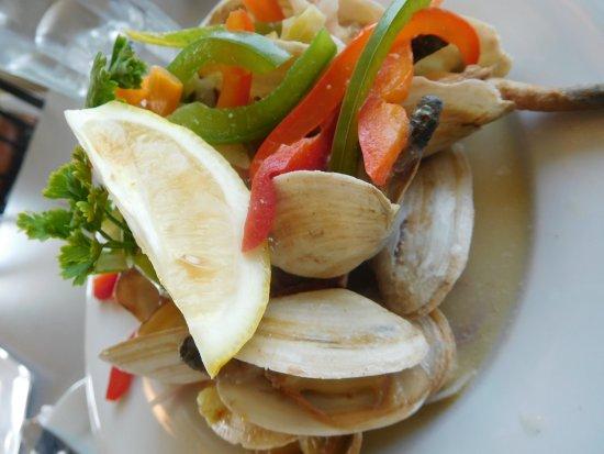 Georgetown, Canada: PEI clams