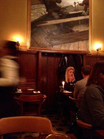 Pelikan restaurant interior, Södermalm, Stockholm