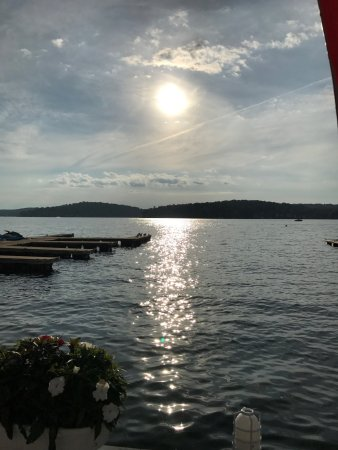 Sunset From The Deck Picture Of Jefferson House Lake Hopatcong
