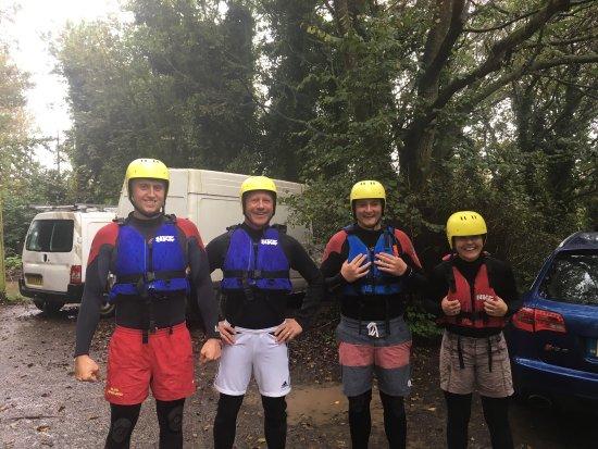 Lizard Adventure - Day Tours: Fab time coasteering- thanks guys!