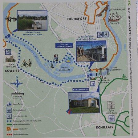 Rochefort, France: Le dépliant publicitaire afin d'avoir une idée de visite de ce lieu