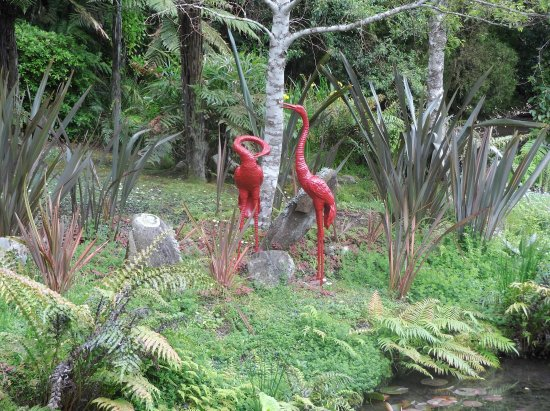 RAPAURA Watergardens: Beautiful. So glad we stopped.