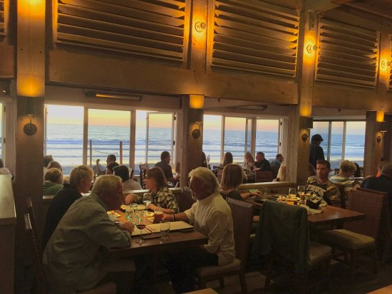 Del Mar, Californien: dinning with a view