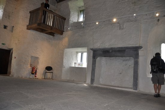 Oughterard, Irlanda: Inside the tower