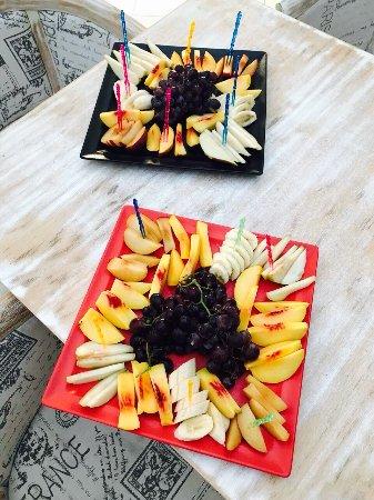 Episkopi, Cypern: Fruit platters