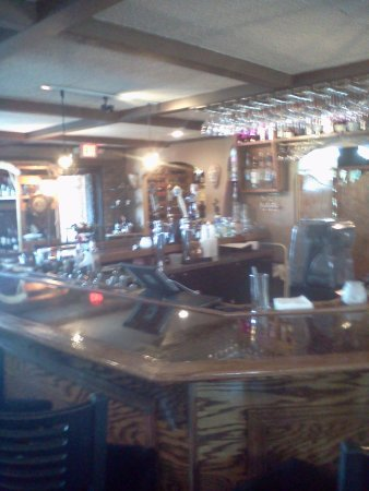 La Plata, MD: The bar area