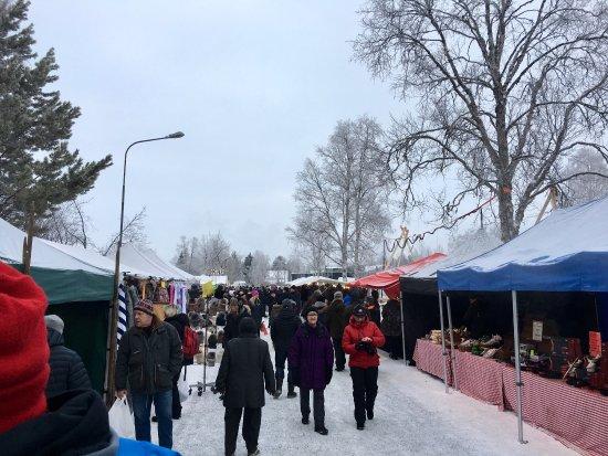 Jokkmokks market at 2017.