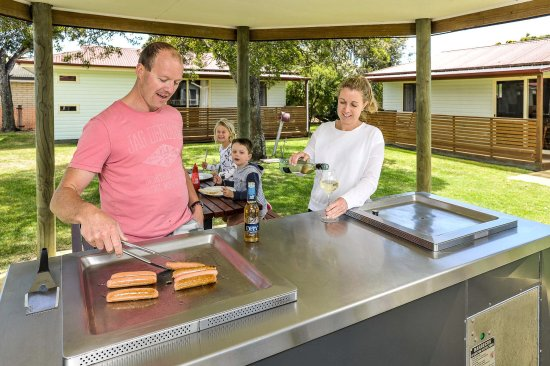 Leisure Ville Holiday Centre : Bbq Area