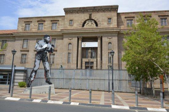 Johannesburg, Güney Afrika: Corte onde Mandela advogou